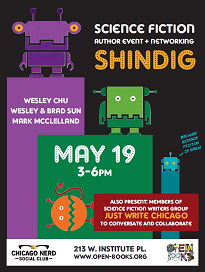 Open Books Author Event and Networking Shindig - Small